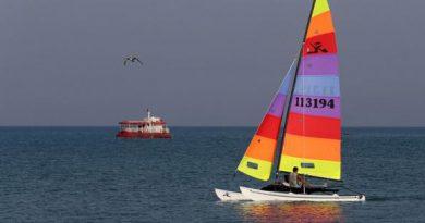 قایق های بادبانی کیش