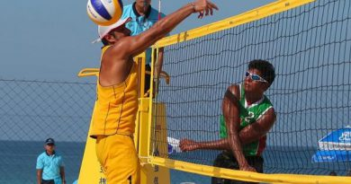 والیبال ساحلی کیش
